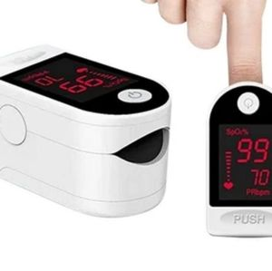 FINGER PULSE OXIMETER WITH LARGE OLED